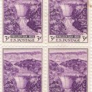 US Scott 774 - Block of 4 - Boulder Dam - 3 cent
