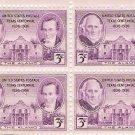 US Scott 776 - Block of 4 - Texas 100th Anniversary - 3 cent Mint