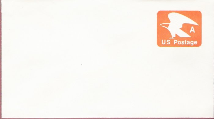1978, US Scott U580, 15-cent Large Envelope 4.125 x 9.5 inch, A Postage, Mint