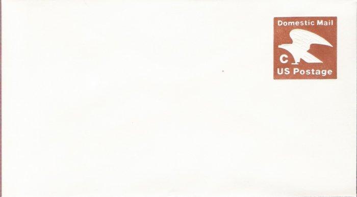 1981, US Scott U594, 20-cent Small Envelope 3.625 x 6.5 inch, C Postage, Mint