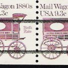 US Scott 1903a Precanceled - Strip of 4 - Mail Wagon 1880s - 9.3 cent - Mint Never Hinged