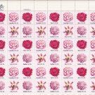 US Scott1876 1877 1878 1879 - Sheet of 48 - Flowers - Mint Never Hinged