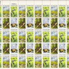 US Scott 1921-1924 - Sheet of 50 - Save Wildlife Habitats - Mint Never Hinged