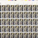 US Scott 1842 - Sheet of 50 - Christmas 1980-religious  - Mint Never Hinged