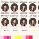 US Scott 1789 -Plate Block of 12 A00001-A00005 Bottom-John Paul Jones 15 cent - Mint Never Hinged