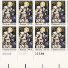 US Scott 1842 - Plate Block of 20 Bottom - Christmas 1980-religious 15 cent - Mint Never Hinged