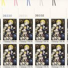 US Scott 1842 - Plate Block of 20 Top - Christmas 1980-religious 15 cent - Mint Never Hinged