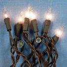 20 Bulb String Lights - Brown cord