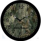 "9"" Personalized Camo Camouflage Clock~Real Tree"