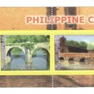 Philippines Colonial Bridges Block of 4 + S/S