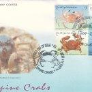 Philippine Crabs 4v FDC