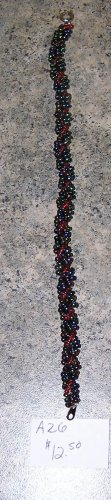 A26 Bracelet - Spiral Rope Seed Bead Bracelet
