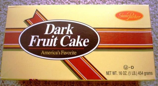 Dark Fruit Cake Like Jane Parker