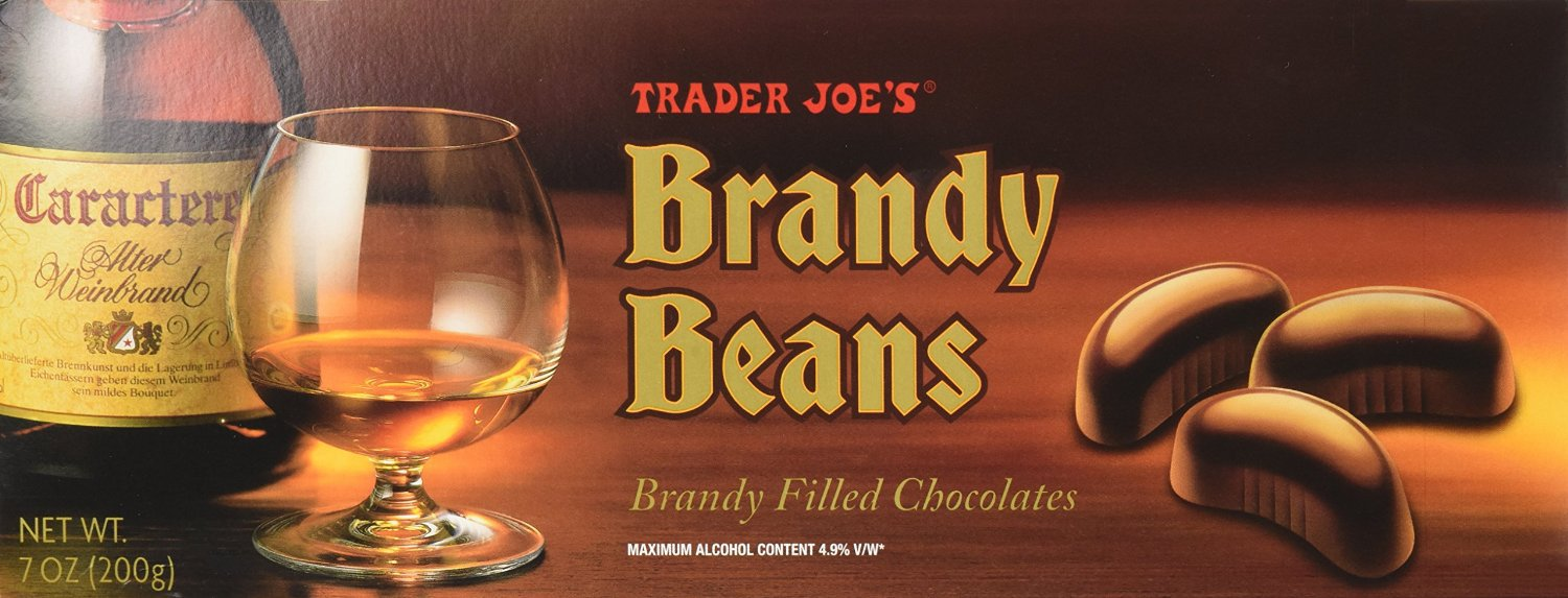 Trader Joe's Brandy Beans ONE BOX