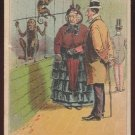 """Victorian Trade Card - Arbuckle Brothers Coffee Company - """"DEGRADING"""" (#30)"""