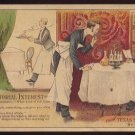 """Victorian Trade Card - Arbuckle Brothers Coffee Company - """"OF PISCATORIAL INTEREST"""" (#63)"""