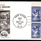 FLEETWOOD - 1957 Steel Industry Centennial (#1090) FDC - PB UA