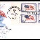 ART CRAFT - 1957 United States Flag (#1094) FDC - PB UA