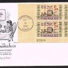 ARTMASTER - 1964 American Homemakers (#1253) FDC - PB UA