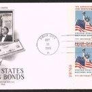 ART CRAFT - 1966 U.S. Savings Bonds / Servicemen (#1320) FDC - PB UA