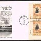 FLEETWOOD - 1967 National Grange Centennial (#1323) FDC - PB UA