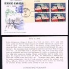 COVER CRAFT - 1967 Erie Canal Sesquicentennial (#1325) FDC - PB UA
