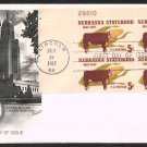 FLEETWOOD - 1967 Nebraska Statehood Centennial (#1328) FDC - PB UA
