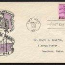 IOOR - 1944 Telegraph Centenary (#924) FDCs (2 cities)