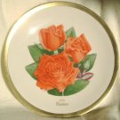 1981 American Rose Society All-American Rose Plate - MARINA
