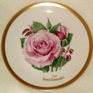 1983 American Rose Society All-American Rose Plate - SWEET SURRENDER