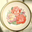 1986 American Rose Society All-American Rose Plate - Rose Trio (VOODOO, BROADWAY, TOUCH OF CLASS)