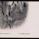 "Luray Caverns, VIRGINIA - ""The Lost Blanket"" Vintage Postcard"