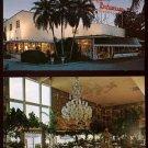 1970s CREIGHTON'S RESTAURANT, Fort Lauderdale, FLORIDA Postcards (2)