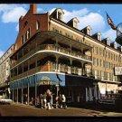 NEW ORLEANS, Louisiana Postcard - Bourbon Street, Royal Sonesta, Old Absinthe House