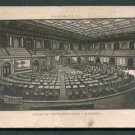 """JERSEY COFFEE Victorian Trade Card - """"HOUSE OF REPRESENTATIVES U.S. CAPITOL."""""""