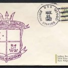 1967 US Navy Ship Cover - USS JOSEPH STRAUSS (DDG-16) - Cacheted