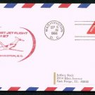 1966 First Flight Covers (2) - WASHINGTON / BOSTON (AM-27)