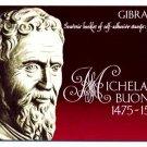 GIBRALTAR -1975 Michelangelo - Complete BOOKLET (#328a)