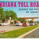 1957 INDIANA TOLL ROAD - Full Color Souvenir Folder/Mailer