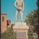 COWBOY STATUE, Boot Hill, Dodge City, Kansas - Unused Post Card