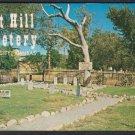 BOOT HILL CEMETERY, Dodge City, Kansas - Unused Post Card