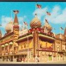 1954 CORN PALACE, Mitchell, South Dakota - Unused Curteich Postcard