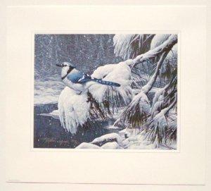 Stephen Lyman - TWILIGHT SNOW - 1987 Limited Edition Print