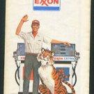 1973 EXXON Road Map - New Jersey