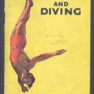 1934 KELLOGG Sports Library Swimming and Diving Booklet
