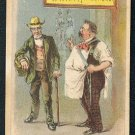 "Victorian Trade Card - Arbuckle Brothers Coffee Company - ""NOT A TRANSLATOR"" (#6)"