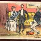 "Victorian Trade Card - Arbuckle Brothers Coffee Company - ""RATHER AWKWARD"" (#19)"