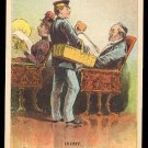 """Victorian Trade Card - Arbuckle Brothers Coffee Company - """"IRONY"""" (#26)"""