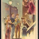 """Victorian Trade Card - Arbuckle Brothers Coffee Company - """"A CORDIAL INVITATION"""" (#80)"""
