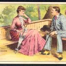 """Victorian Trade Card - Arbuckle Brothers Coffee Company - """"NO DOUBT ABOUT IT"""" (#84)"""